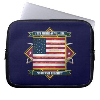 17th Michigan Volunteer Infantry Laptop Sleeve