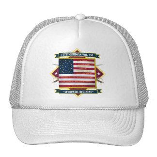 17th Michigan Volunteer Infantry Shirts Trucker Hat