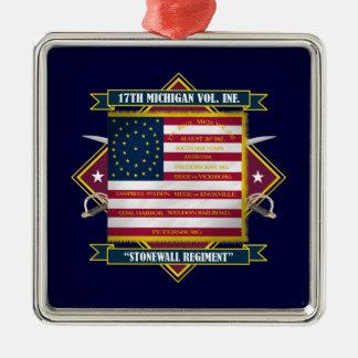 17th Michigan Volunteer Infantry Shirts Christmas Ornaments