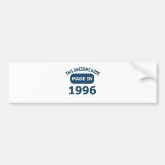 17th year birthday designs car bumper sticker