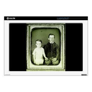 1800s Children Portrait Decals For Laptops