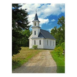 1800s de la iglesia presbiteriana de la orilla tarjeta postal