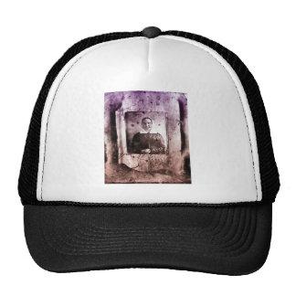 1800s Old Victorian Woman Trucker Hat