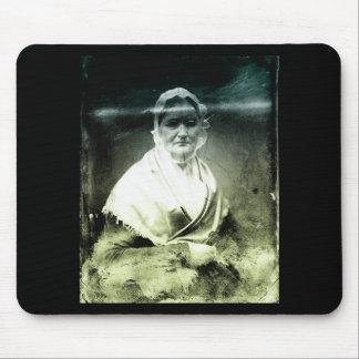 1800s Old Woman Portrait Mouse Pad