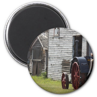 1800's Steam Tractor Magnet