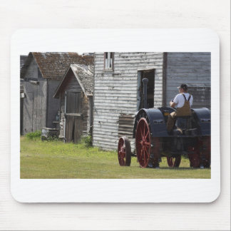 1800's Steam Tractor Mouse Pad