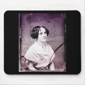 1800s Victorian Woman Mouse Pad