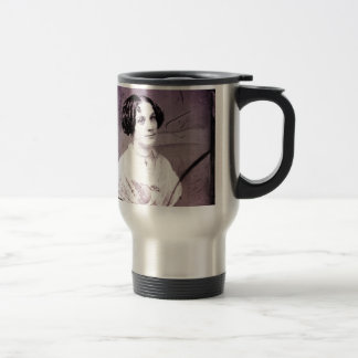 1800s Victorian Woman Travel Mug