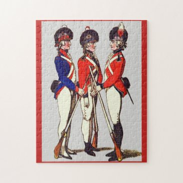 1803 London Volunteers print Jigsaw Puzzle