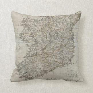 1804 Map of Ireland Pillows