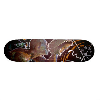 1804 - Neg Mawon Custom Skateboard