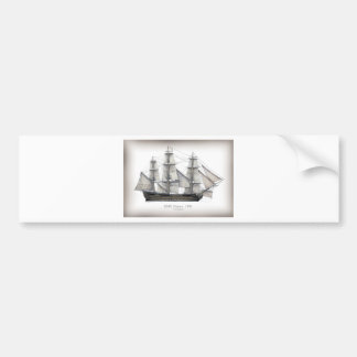 1805 Victory ship Bumper Sticker