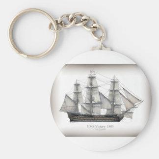 1805 Victory ship Keychain