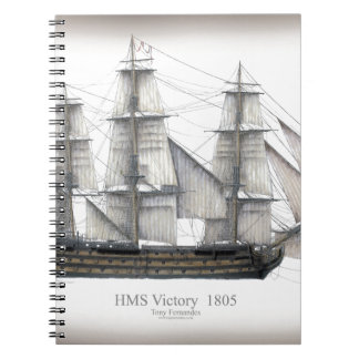 1805 Victory ship Notebook