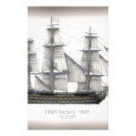 1805 Victory ship Stationery