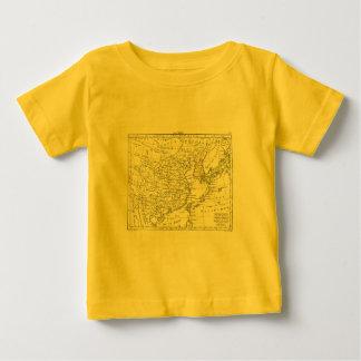 1806 Map - La Chine Baby T-Shirt