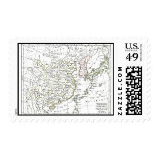 1806 Map - La Chine Postage Stamp