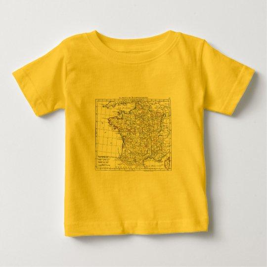 1806 Map - La France en 32 Gouvernements Baby T-Shirt
