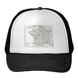 1806 Map - La France en 32 Gouvernements Trucker Hat