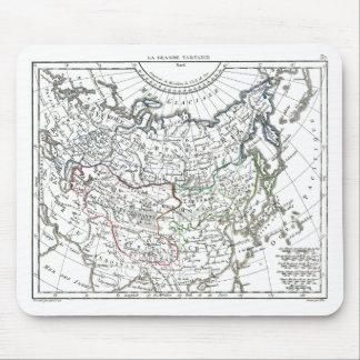 1806 Map - La Grande Tartarie Mouse Pad
