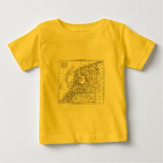 1806 Map - La Republique Batave Baby T-Shirt