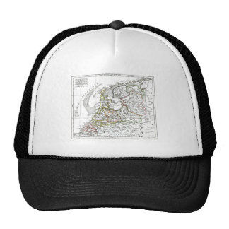 1806 Map - La Republique Batave Trucker Hat