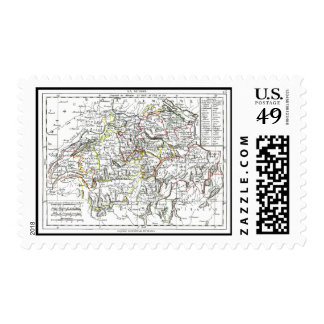 1806 Map - La Suisse Stamp