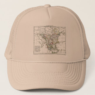 1806 Map - La Turquie d'Europe Trucker Hat