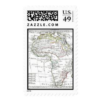 1806 Map - L'Afrique Stamps