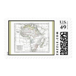 1806 Map - L'Afrique Postage