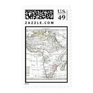 1806 Map - L'Afrique Postage Stamps