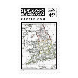 1806 Map - L'Angleterre Postage