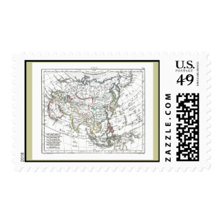 1806 Map - L'Asie Stamp