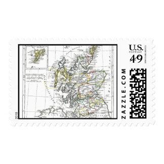 1806 Map - L'Ecosse Postage Stamp