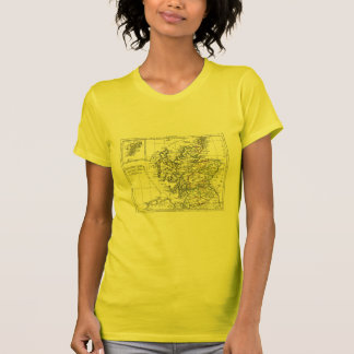 1806 Map - L'Ecosse Tee Shirts