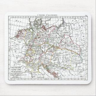 1806 Map - L'Empire d'Allemagne Mouse Pad