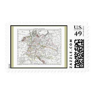 1806 Map - L'Empire d'Allemagne Postage