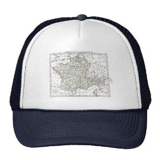 1806 Map - L'Empire Francais en 111 Departements Trucker Hat