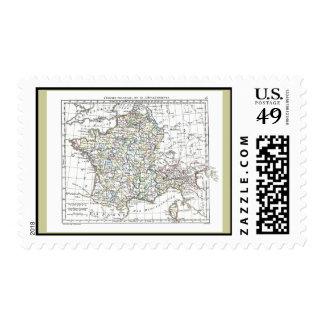 1806 Map - L'Empire Francais en 111 Departements Postage