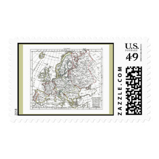 1806 Map - L'Europe Postage