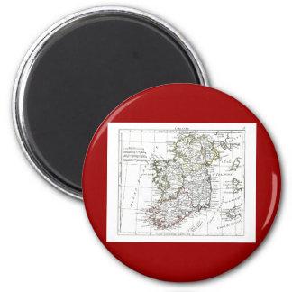 1806 Map - L'Irlande Magnet