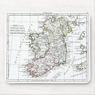 1806 Map - L'Irlande Mouse Pad