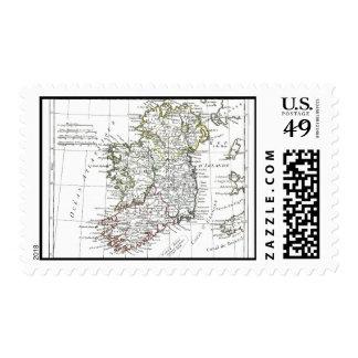 1806 Map - L'Irlande Postage Stamp