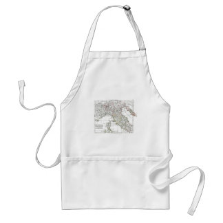 1806 Map - L'Italie (Nord) Adult Apron