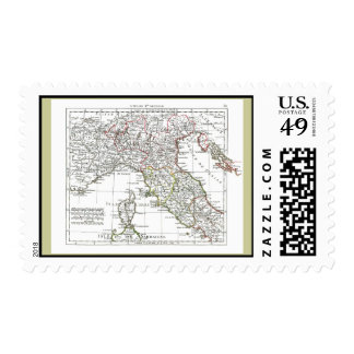 1806 Map - L'Italie (Nord) Postage Stamps