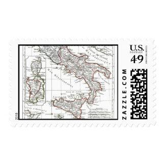 1806 Map - L'Italie (Sud) Postage Stamp