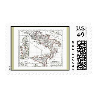 1806 Map - L'Italie (Sud) Postage