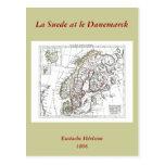 1806 mapa - ante del La en le Danemarck Tarjeta Postal