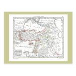 1806 mapa - d'Asie de Turquie del La Tarjetas Postales