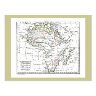 1806 mapa - L'Afrique Postales